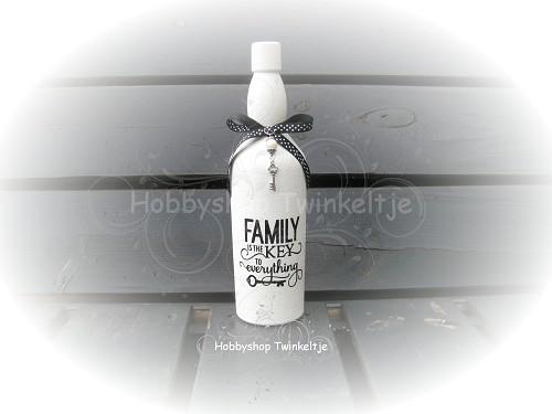 Decoratie fles 10 hobbyshop twinkeltje for Decoratie fles