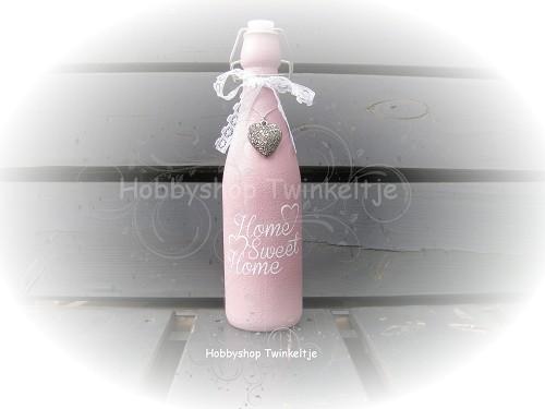 Decoratie fles 11 hobbyshop twinkeltje for Decoratie fles